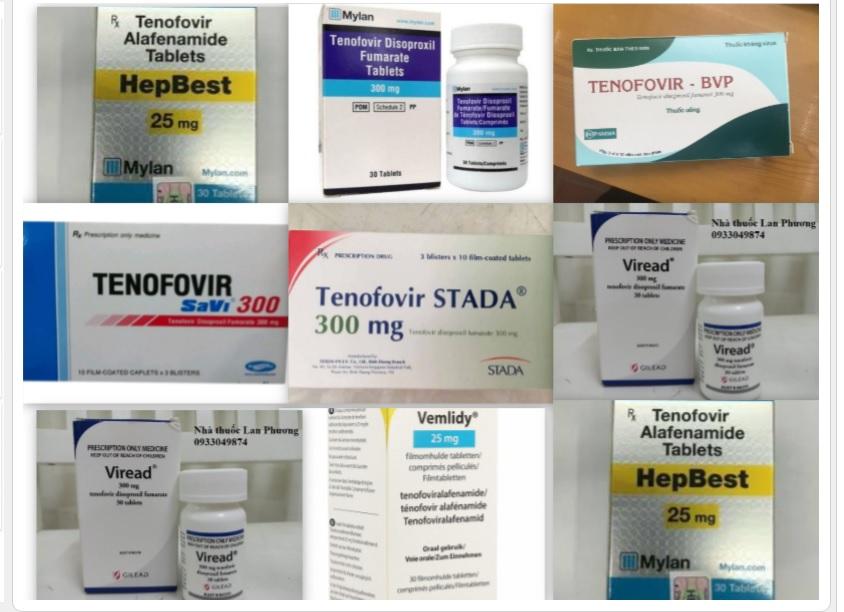thuốc tenofovir